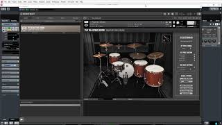 First look: Roomsound / Blasting Room Drum Library.