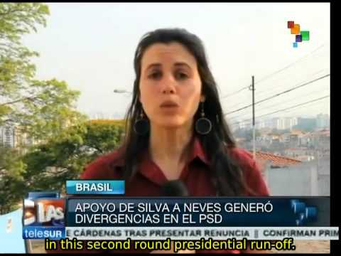 Brazil: Silva called traitor as she announces her support of Neves