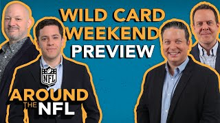 Around The NFL Broadcast: Wild Card Weekend Preview Show!