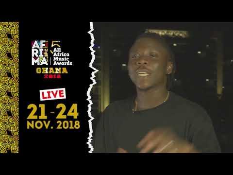 Watch Ghanaian Biggest Afropop, Dancehall And Reggea Artiste Stonebwoy Live 5thAFRIMAGhana 2018