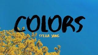 Stella Jang - Colors (Lyrics Video)