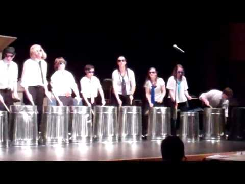 "Jamestown High School Band presents ""Stinkin' Garbage"""