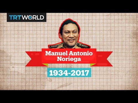 A look at the life of Panama's Manuel Noriega
