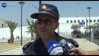 قسنطينة: جريحان في انحراف عربة الترامواي واصطدامها بسجن الكدية