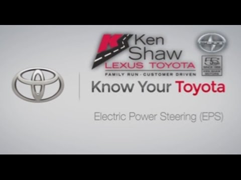 Know Your Toyota Mechanical Electric Power Steering - YouTube