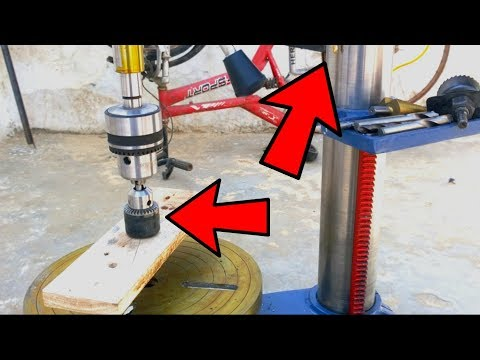 Wow 2??  Amazing IDEAS OF DRILL PRESS STAND