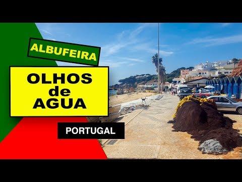 Olhos de Agua Albufeira The Algarve Portugal 2019