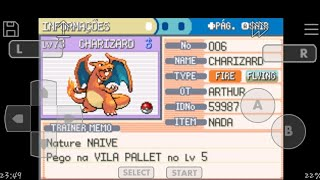 Pokemon fire red Final
