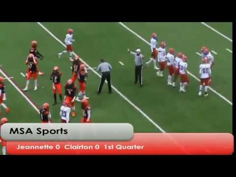 MSA Sports Spotlight Game: WPIAL Class 1-A Final:  Jeannette vs. Clairton  11-26-16