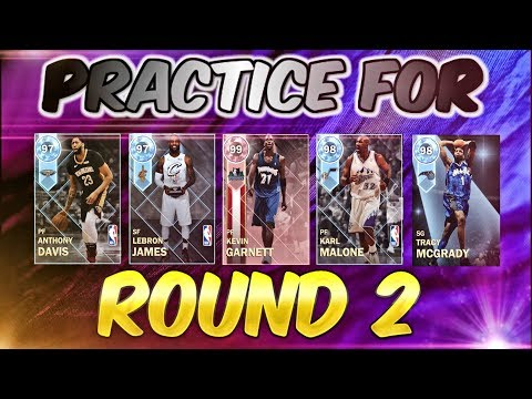 SUPERMAX Round 2 for PINK DIAMOND Porzingis ALMOST HERE! Practice TIME! Nba 2k18 Myteam
