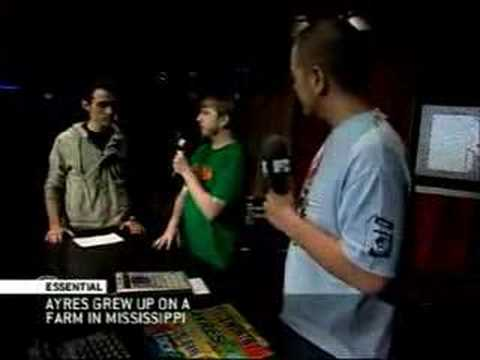 DJ Ayres & Tittsworth on MTV Live in Canada