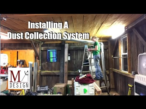 Woodshop Dust Collection System Youtube
