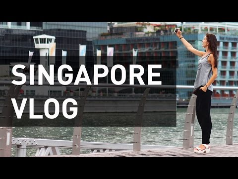 Vlog from Singapore: Is It More like the UK or USA? Marina Bay Sands, Markets, Language Schools