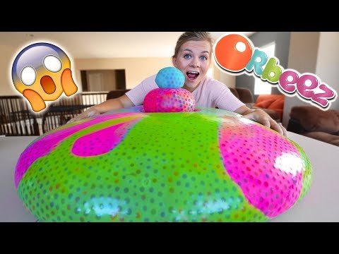 GIANT ORBEEZ WATER BALLOON! What Happens?! from YouTube · Duration:  13 minutes 18 seconds