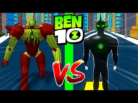 Roblox Ben 10 Vilgax VS Alien X Roblox Ben 10 Arrival of Aliens