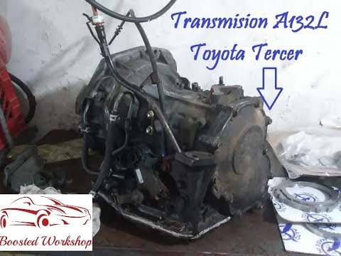 Como Reparar Una Transmision A130L - A131L - A132L Toyota Tercel (1 De 3)