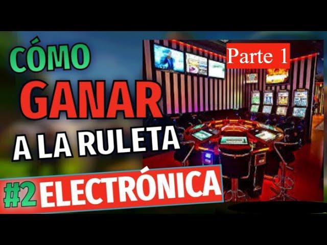 RULETA ELECTRONICA/SALÓN DE JUEGOS GOLDENPARK /CASINO/Parte 1🔥