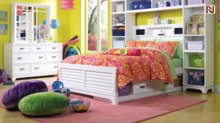 Lea 711-945 4/6 Full Bookcase Headboard From Freetime