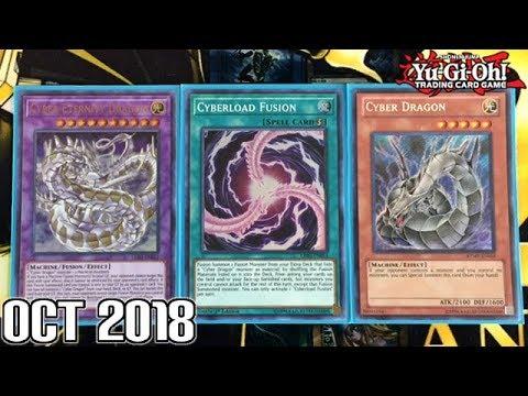 Yu-Gi-Oh! CYBER DRAGON DECK PROFILE | Oct 2018 Legendary Duelist Support