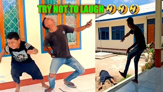 TAHAN TAWA #1 || VERY FUNNY VIDEO || TRY NOT TO LAUGH🤣🤣🤣 || VIDEO LUCU MAUMERE ||