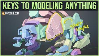 Blender 2.8 Modeling: 6 key principles for any 3D model (2019)