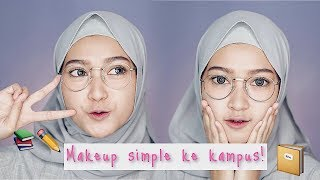 FRESH MAKEUP KE KAMPUS TANPA RIBET & TANPA FOUNDATION | SARITIW