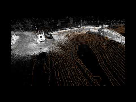 Construction Topo from LiDAR Scan