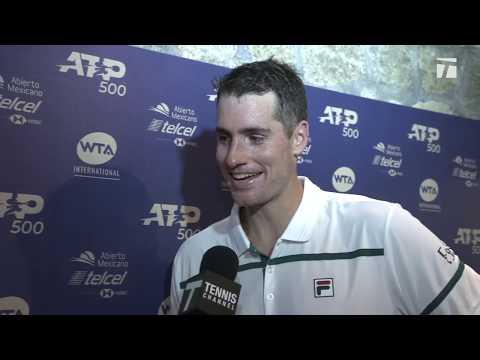 John Isner: 2020 Mexican Open Quarterfinal Win Tennis Channel Interview