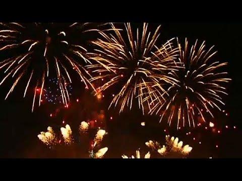 Rusya'da Rostekh Havai Fişek Festivali başladı