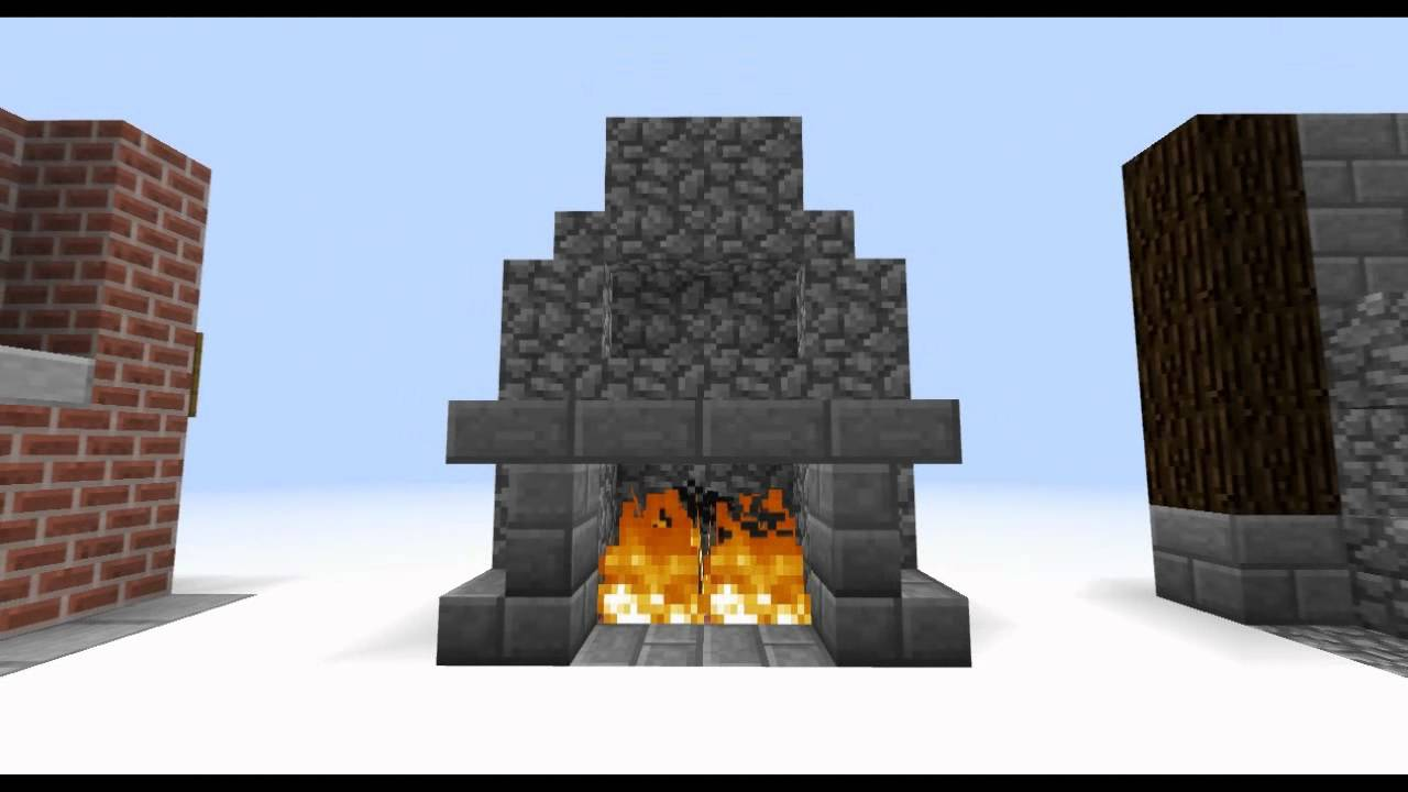 how to make living room furniture in minecraft beach rooms interior designs episode 2 couches fireplaces more youtube
