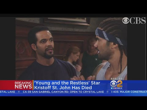 Sherry Mackey - Young & Restless Star Kristoff St. John Found Dead at 52