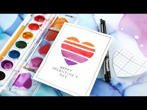 Easy DIY Valentine's Day Card (Minimal Supplies Needed)