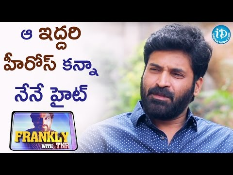 I Am Taller Than Those Two Heroes - Subbaraju | Frankly With TNR | Talking Movies With iDream