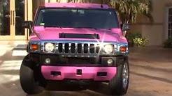 Pink Hummer Limo - 15 Passenger Limousine