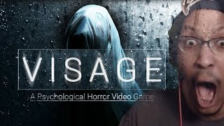 THE MOST OMINOUS CREATION EVER. | Visage: A Psychological Horror Game