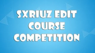 Fortnite: Sxriuz Edit Course Competition! Code: 0253-1112-8560 (READ DESC)