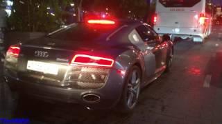 Siêu Xe Audi R8 V10 Độ Pô IPE Với Âm Thanh Chát Chúa Trên Phố