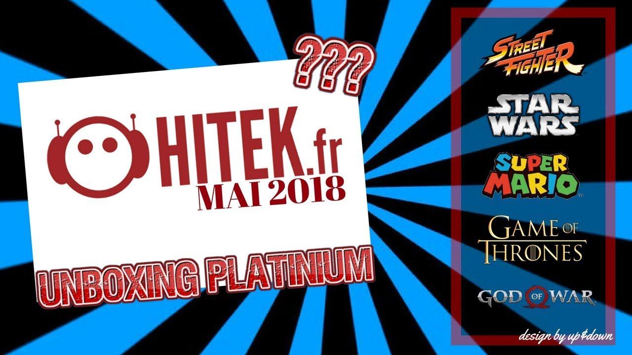 HITEK BOX PLATINUM MAI 2018 #3 #Gameofthrones