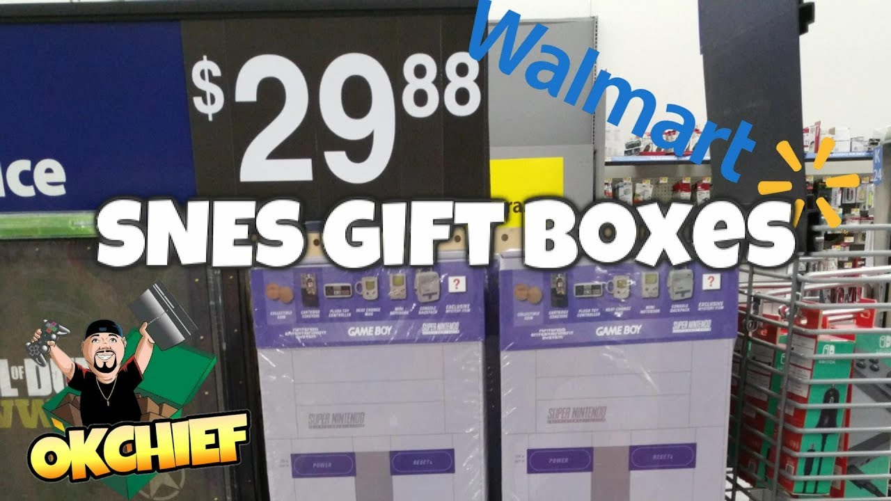 Walmart Super Nintendo Gift Boxes, Are They Worth It? - Okchief ...