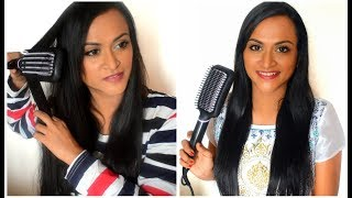 Philips Straightening Brush BHH880 Tamil Review | Does It Really Straighten? | Kerashine