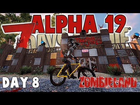 7 Days To Die Alpha 19 - Zombieland Day 8