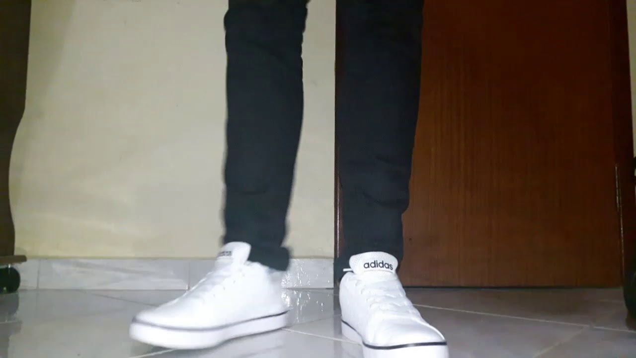 9c4a7f032 adidas neo vs pace (on feet) - YouTube