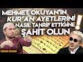 Mehmet Okuyan'ın Kur'an ayetlerini nasıl tahrif ettiğine şahid olun! / Kerem Önder