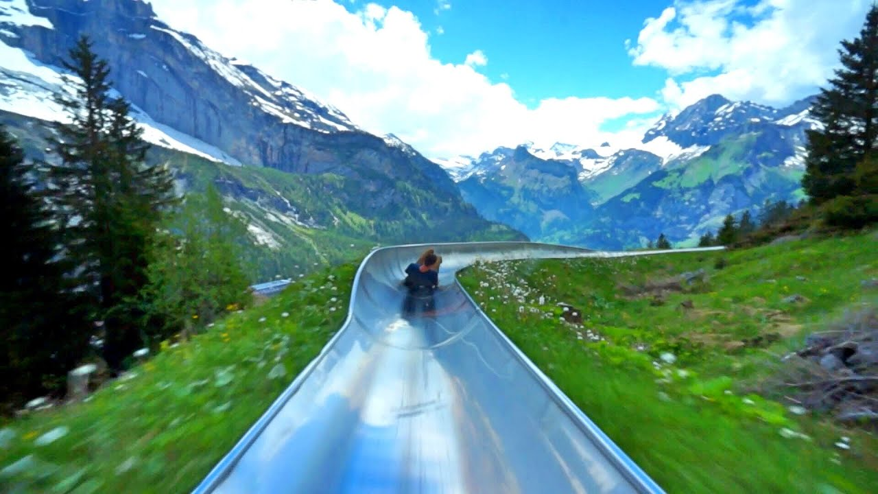 switzerland mountain coaster youtube