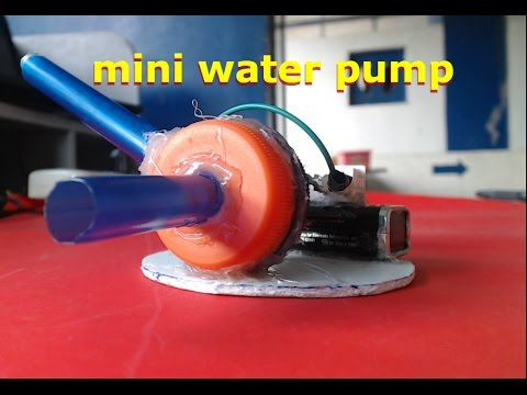 how to make small water pump for project