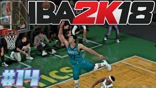NBA 2k18 MyLEAGUE  | Charlotte Hornets #14 | Zhou Qi FTW!
