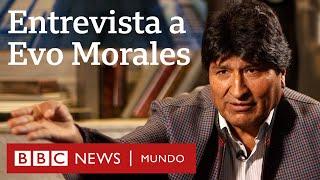 """Evo Morales en entrevista con BBC Mundo: """"Voy a volver en cualquier momento"""""""