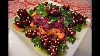 Новогодний салат - ОЙ - ЛЯ -  ЛЯ -  так воскликнет, каждый, кто его попробует!