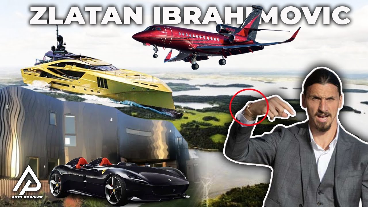 Seberapa Kaya Zlatan Ibrahimovic? Mari Bonkar Kekayaan dan Koleksi Kendaraan Mewah yang Dimilikinya