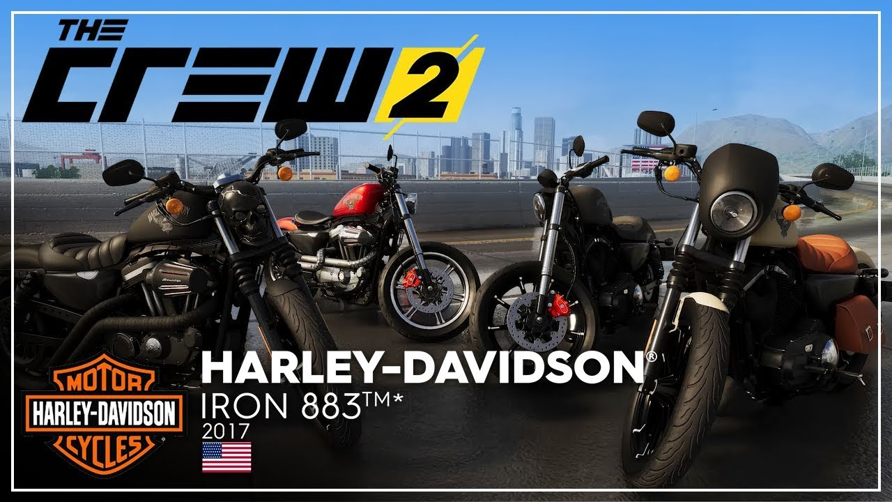 The Crew 2: Harley Davidson Iron 883